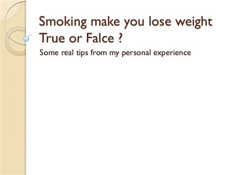 nicotine caused weight loss picture 6
