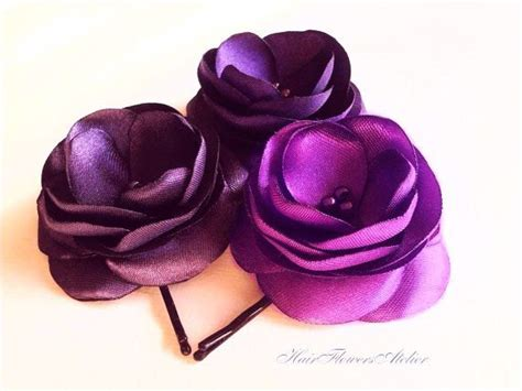 purple hair pins picture 5