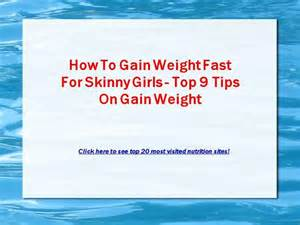 tips how to quickly gain weight picture 14
