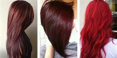 can dyed red hair go to brunette picture 4