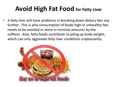 what foods to avoid with a fatty liver picture 4