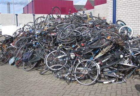 bicycle piles picture 2