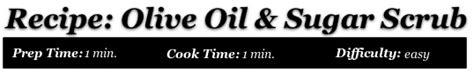 Olive oil and sugar lip therapy picture 5
