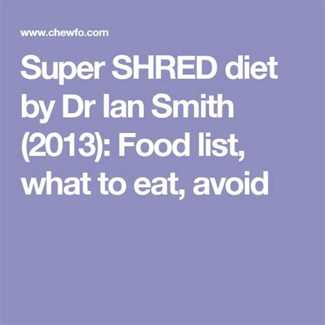 dr ian smith new food formula picture 1