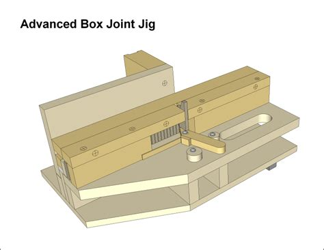 advanced box joint jig plans picture 1