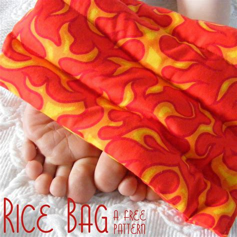 free heart rice pack pattern picture 5