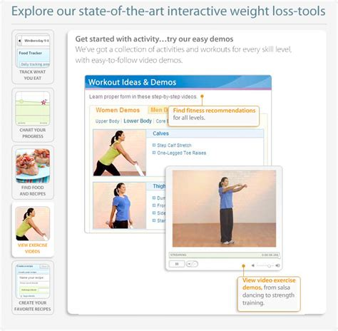 weighchers online weight loss - weight watchers etools picture 2