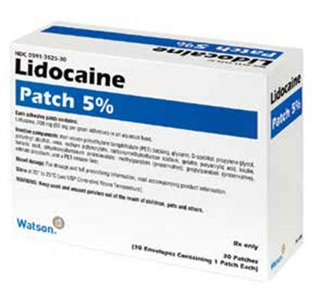 lidoderm skin patch picture 1