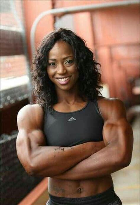 black muscle women girls picture 2