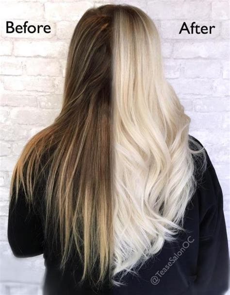 before and after olaplex treatment picture 2