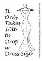 weight loss needed to drop dress size picture 10