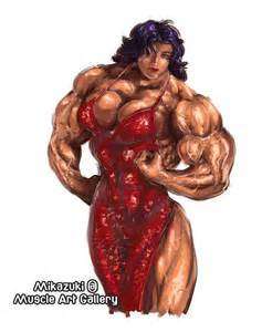 art muscle girl picture 2