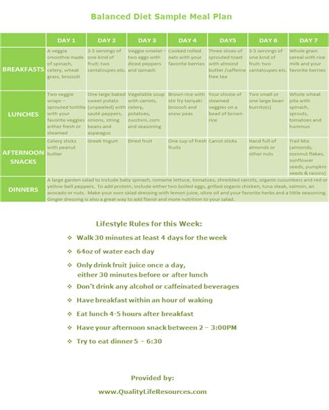 diet meal plans picture 10