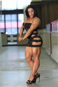 female muscle legs wrestling picture 9