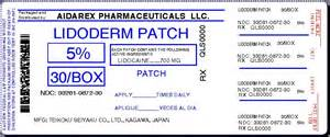 lidoderm skin patch picture 5
