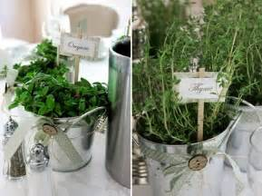 Table centerpieces herbal picture 5