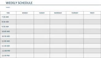 schedule picture 3