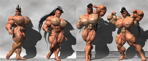 female muscle art picture 5