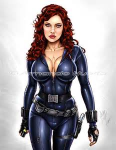 marvel black widow breast deviantart picture 1