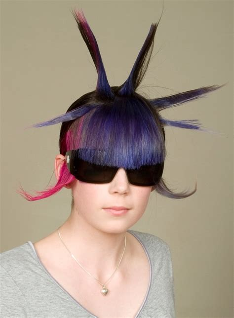 crazy hair styles picture 11