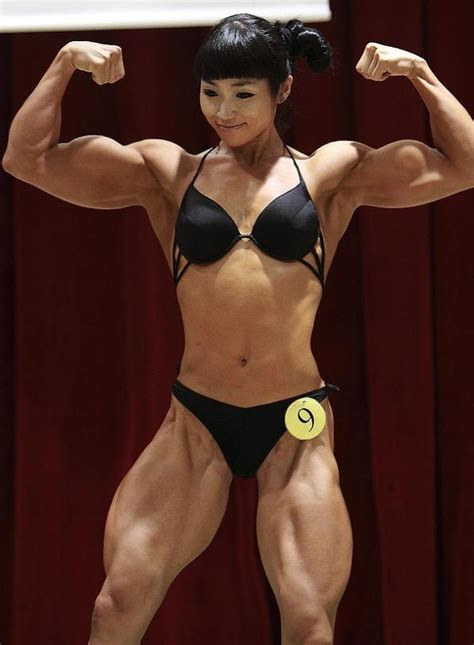 female asian muscle picture 3