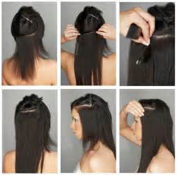 hair clip extensions picture 2