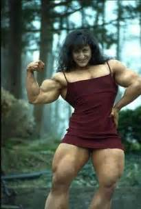 muscular females overpowering men picture 9