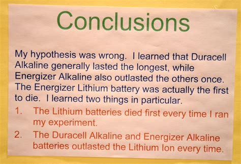 conclusion h liquids science fair picture 13