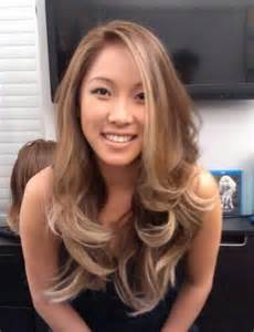 asians blonde hair picture 2