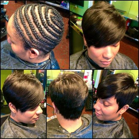 can i put weave on my short hair picture 3