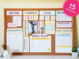 weight loss vision board picture 5