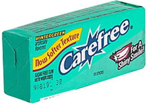 carefree peppermint gum picture 11