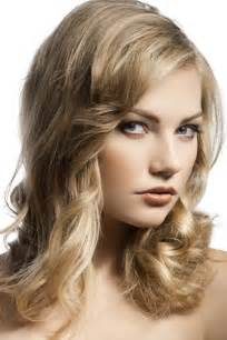 elegant medium length wavy hair down picture 3
