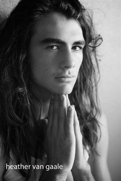 male models with long hair picture 3