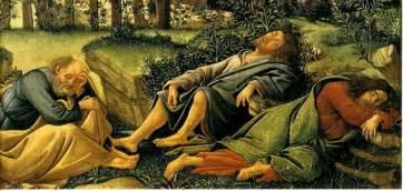 jesus pray deciples sleep picture 1