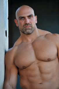 bald muscle men picture 1