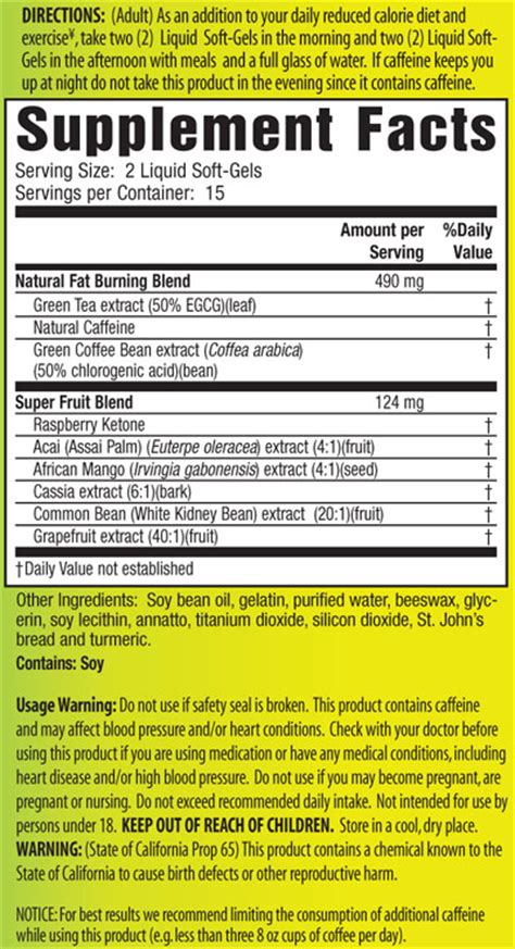 fat burning injection ingredients picture 5