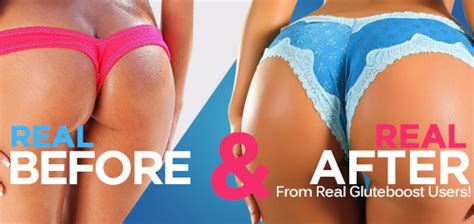 gluteboost before and after pictures picture 5