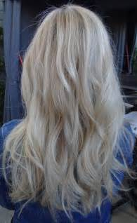 pure blonde color hair picture 2