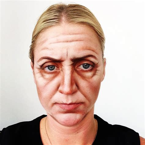 ageing makeup picture 5