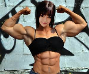 female asian muscle picture 5