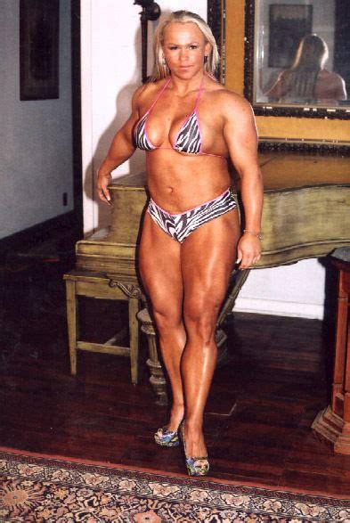 female black bodybuilders wrestling picture 3