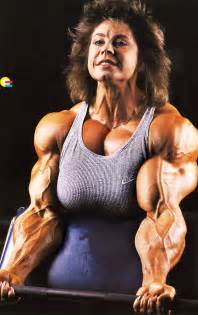 morphed muscle women picture 2