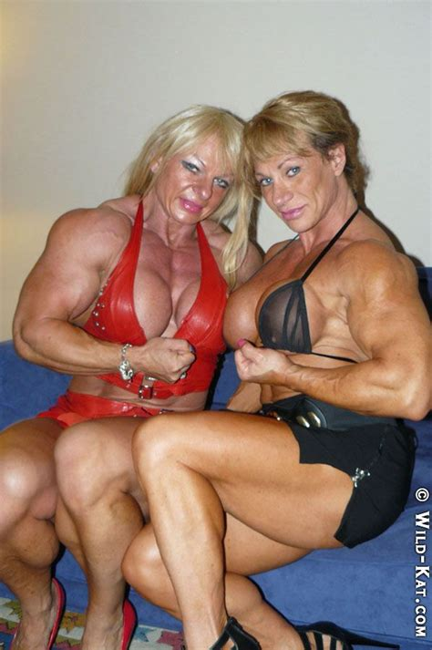 female flexing muscles picture 11