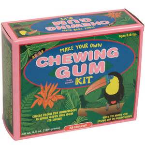 making homemade natural chewing gum picture 15