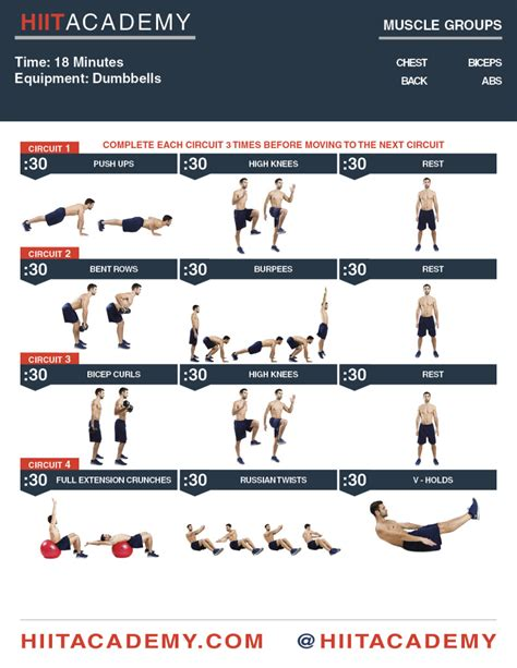 fat burning dumbbell workout picture 3