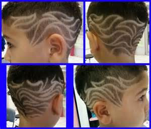 Boys hair shave design picture 7