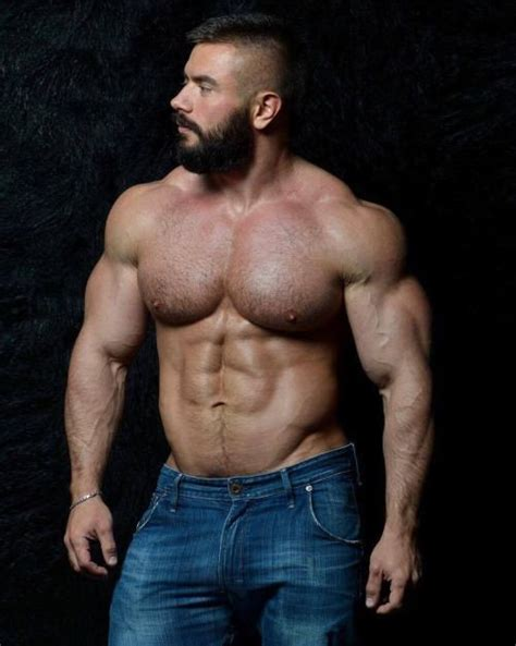 big hairy muscle guys men only picture 1