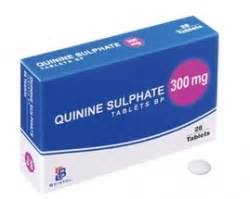 what is quinine and menstrogen tablet use for? picture 1