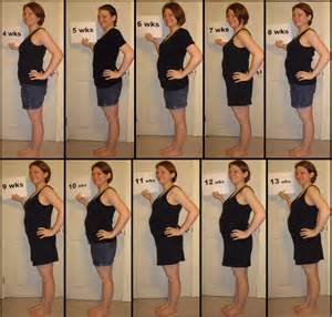 weight gain during the first trimester picture 10
